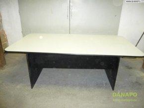 40558 velky konferencni dreveny sedy stul 2 2x1 2m