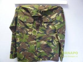 Vojenská košile Combat Lightweight DP UK více vel. (Typ 190/140 nášivka pruhy, vlajka, číslo 12)