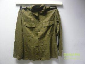 Vojenská košile rakouská armáda Heereseigentum (Typ 96-100 I-II oliv,nášivka)