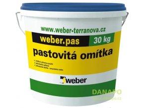 Weber pas silikát - zrnitý 2 mm - silikátová omítka 220 Z
