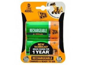 baterie jcb nimh d 4000mah 2 ks blistr[1]