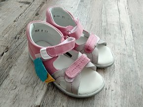 Sandály dětské Santé N/950/803 růžové vel. 27