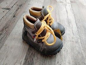 Dětské celoroční vycházkové boty Santé N/750/7 vel. 21