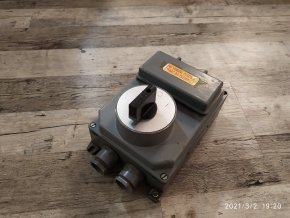 Spínač vačkový přepínače S25V J01 - 25A 500V