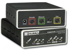 Ethernet Extender Patton 2156 převodník