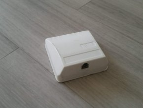 Telefonní zásuvka jednonásobná 2N TZU Aa