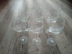Sklenice na víno sada 6 kusů