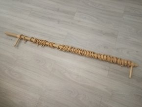 Garnýž dřevěná borovice 120cm