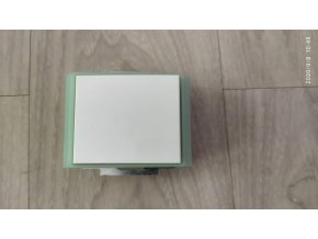 3558E ABB Element,Time vypínač č.7  bílá / ledová zelená