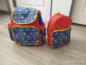 Školní dětská taška batoh + baťůžek