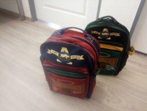Školní dětská taška batoh Dragon mountain expedition