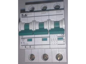 F&G (Moeller Eaton) tří fázový jistič L7-B 10kA , 3P