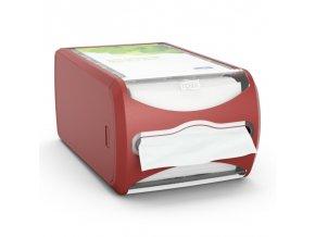Tork Xpressnap® pultový zásobník na ubrousky Red (červený)