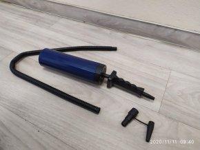 Dvojčinná ruční nafukovací pumpa 2 x 0,2L 0,3 bar hustilka