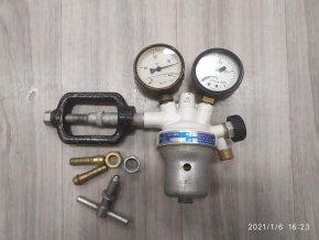 Redukční ventil ACETYLEN TECHNOMAT A2 - 1,5 chotěbořské strojírny