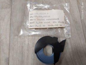 Páska Dymo 9,5mm x 3 m, bílý tisk / modrý podklad