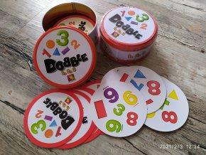Hra - Dobble 1-2-3 čísla a tvary