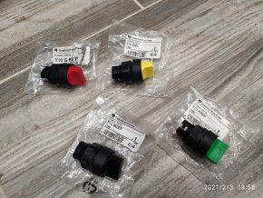 Ovládací hlavice T10 - T10G přepínací 2 polohy  Elektropřístroj písek