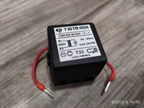 Trafo transformátor pro systém T10 TR400A Elektropřístroj písek