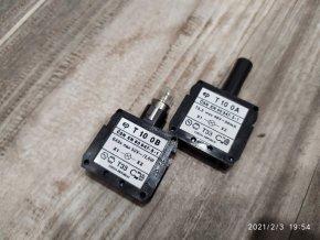 Objímka na žárovku T10 0A T10 0B  Elektropřístroj písek