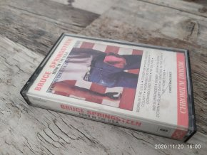 MC Magnetofonová kazeta - Bruce Springsteen - Born in the U.S.A. 1984