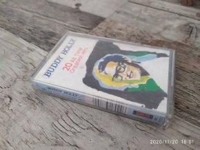 MC Magnetofonová kazeta - Buddy Holly - 20 All Time Greatest Hits
