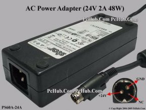0043852 Others Brand Star Micronics AC Adapter 20V Above PS60A 24A b 43852 550[1]