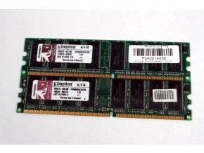 Operační paměť Kingston DIMM 256MB DDR 400MHz KVR400X64C3A/256