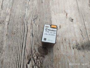 Zásuvné relé / spínací relé série 55 Finder 55.34 230VAC 5A