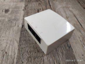 Telefonní zásuvka trojnásobná Tesla Stropkov TZU ABCa