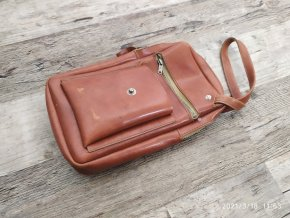 Retro pánská kabelka / taška na zápěstí 70. - 80.  léta