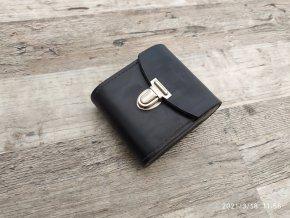 Retro kožené pouzdro kapsička za opasek 105x90x35
