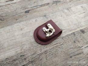 Retro mini pouzdro kapsička za opasek 55x75x10mm