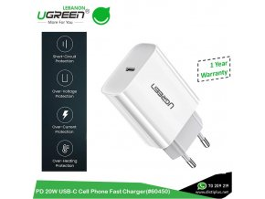 pd 20w usb c cell phone fast charger ugreen cd137 60450[1]