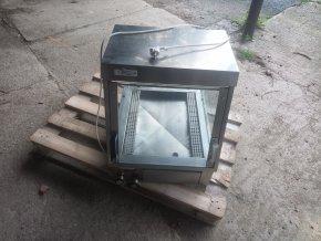 Elektrická ohřívací vitrína prosklená VAU LVB-1