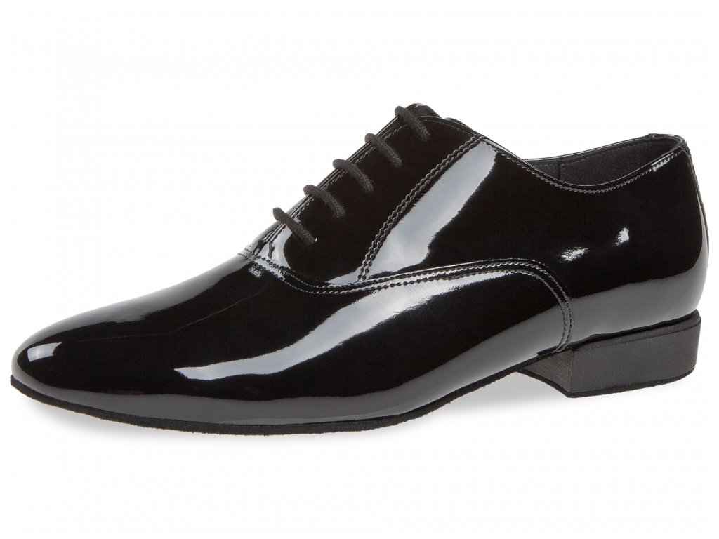 Pánské taneční boty Diamant 180 - 075 lesk (velikost 37)