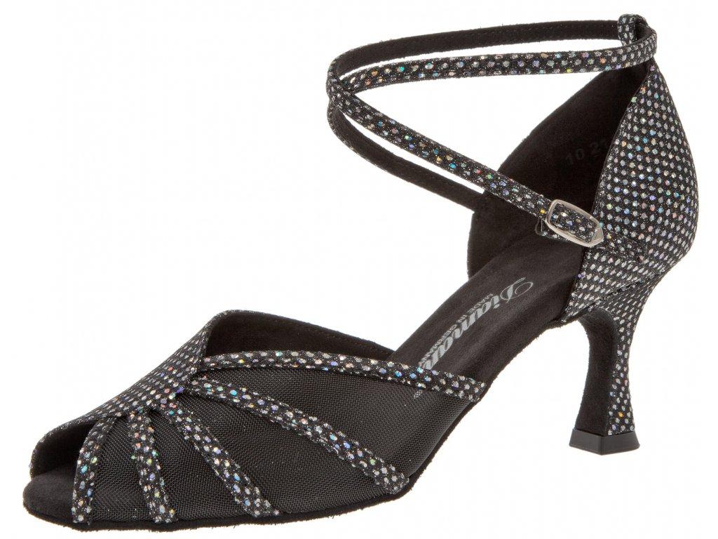 Taneční boty Diamant 020 - 6,5 cm Flare (velikost 36)