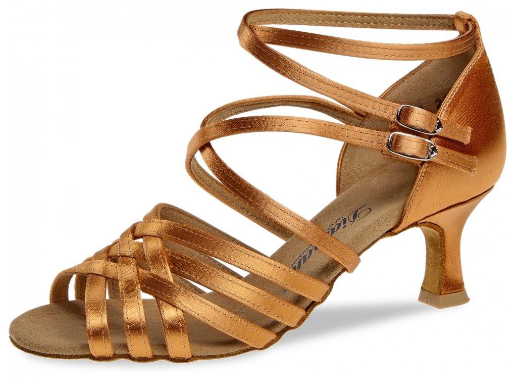 Taneční boty Diamant 108 tělová - 6,5 cm Flare (velikost 36)