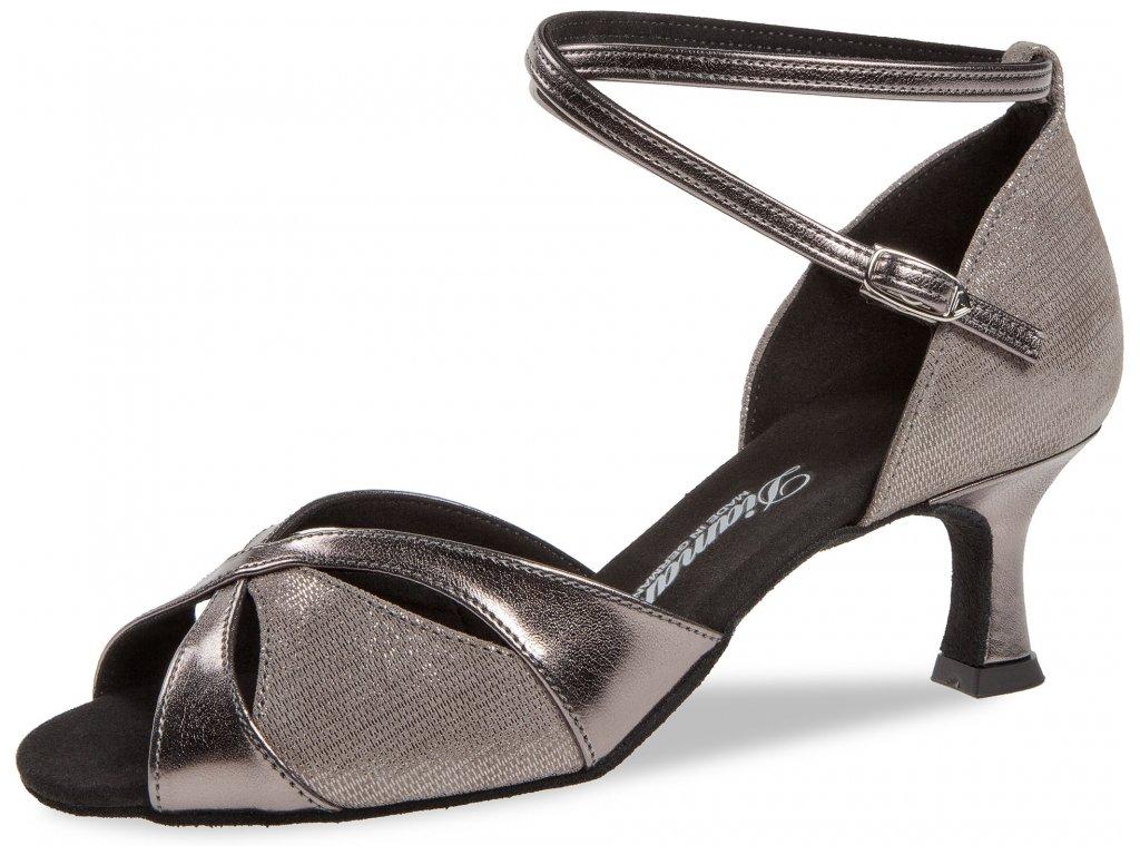 Taneční boty Diamant 141 bronzová - 5 cm Flare (velikost 36)