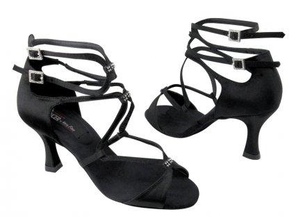 damske tanecni boty CD2175 cerna