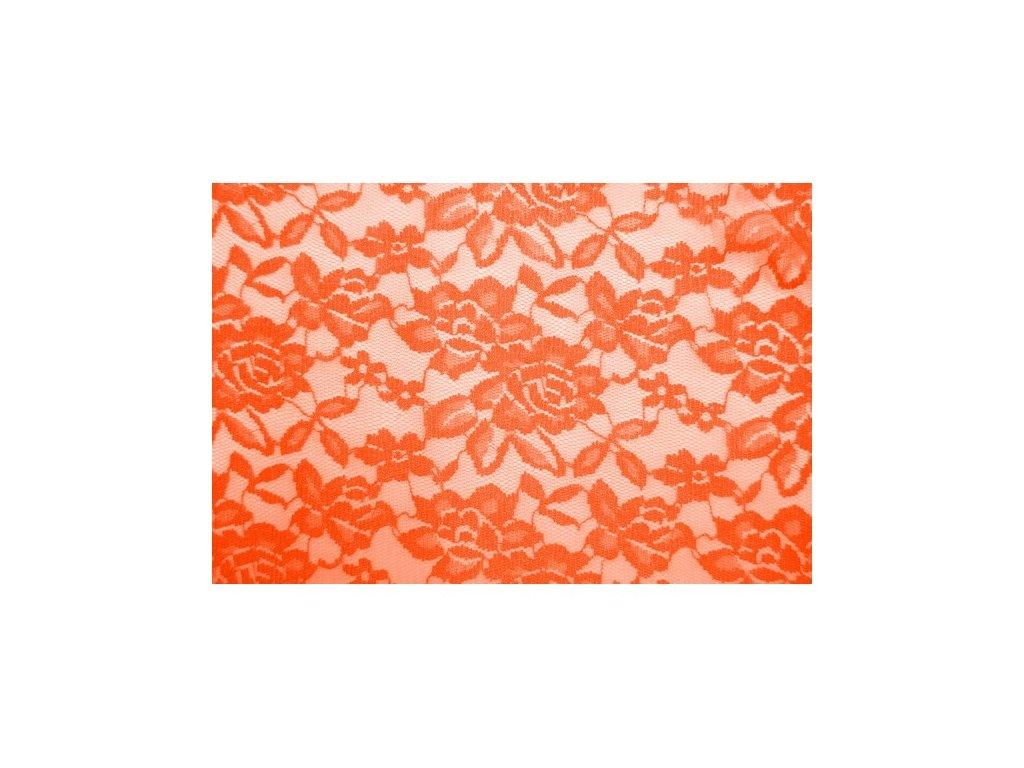 elasticka krajka 24 oranzfluo