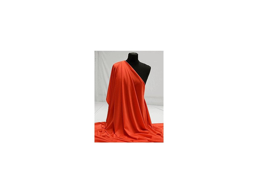 PSYCHO RED - Oranžovočervená Mat