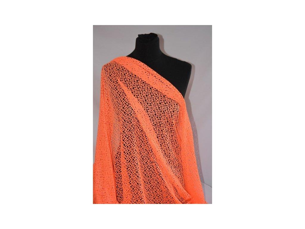 elastsitka neon oranz s leskem
