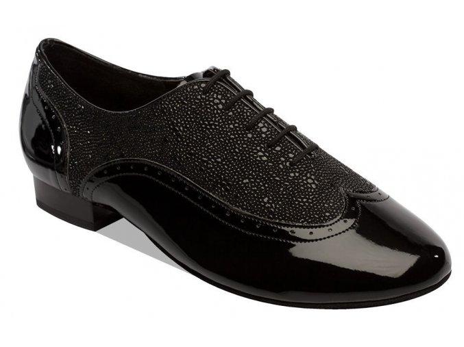 Style 6405 Black Patent/Black Stingray