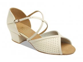 Style 1226 Beige Leather/Perforated