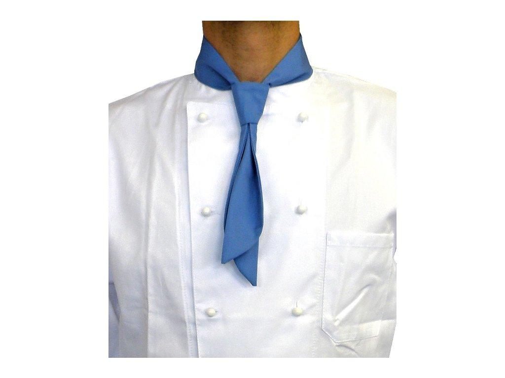 kucharska kravata modra 1 mala