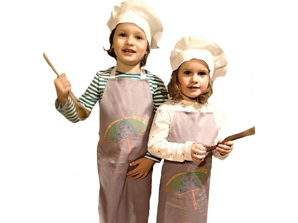 zastera a baret detsky 2