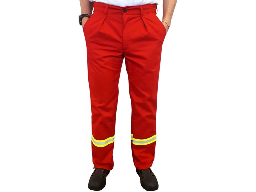 reflexni kalhoty zachranar cervene 2020