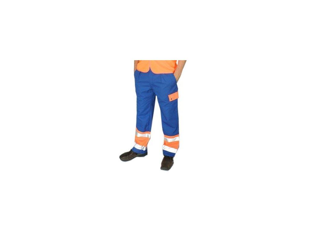kalhoty reflex modre detail