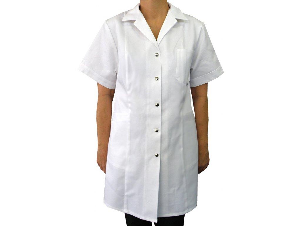 Pracovní plášť dámský bílý